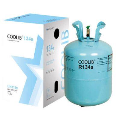 قیمت به روز گاز R134a | فروش کپسول 13 کیلویی | کولیب | آلفا | گاز فریون - شرکت طرح و ساخت دامون